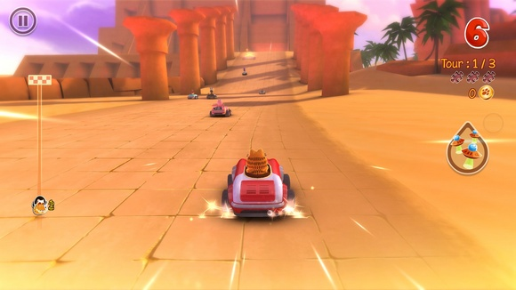 Garfield Kart PC Game Screenshot 3 Garfield Kart SKIDROW