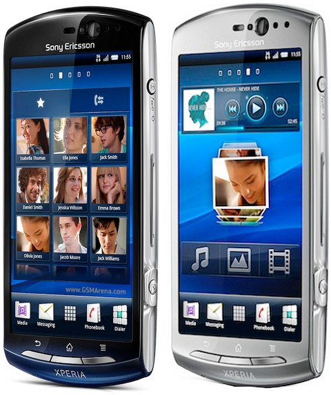 TECHZONE: Sony Ericsson Xperia neo Features, Specification ...