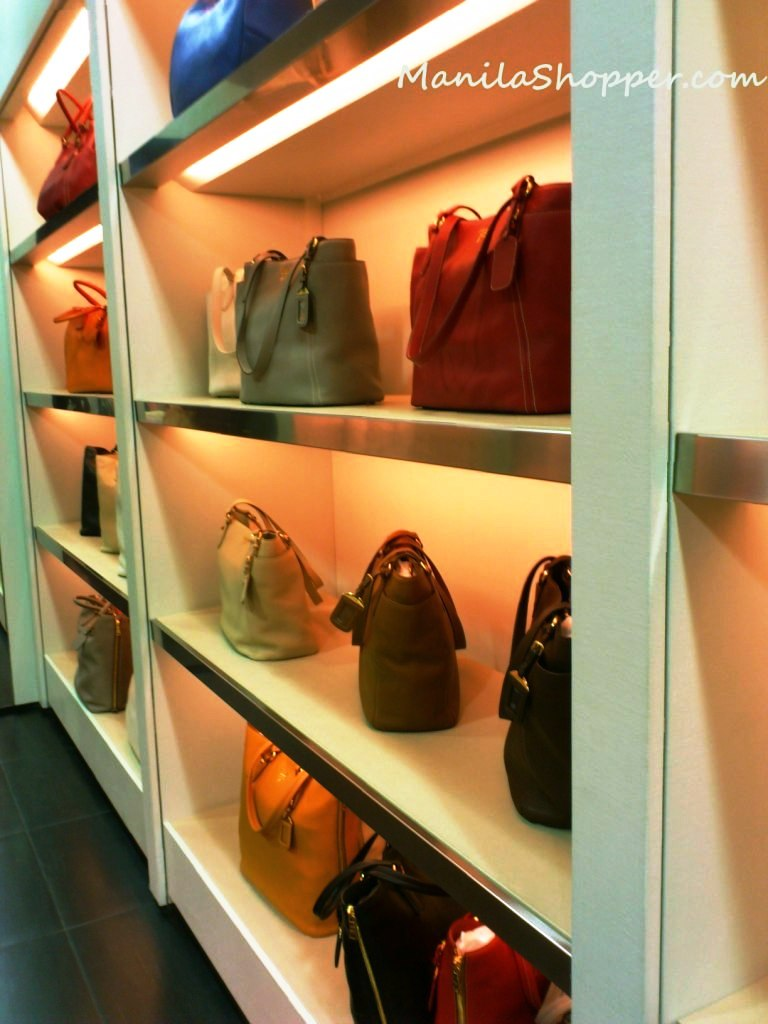 small prada - Manila Shopper: Prada Outlet Store at Space Outlet Marina Square ...