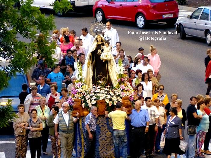 Fiestas la paterna 2014 fuegos artificiales y procesiones