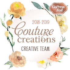I AM ON THE COUTURE CREATIONS TEAM