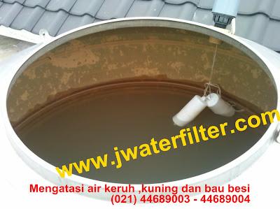 Air Kuning_Keruh_Bau Besi_Berlumpur_Berminyak
