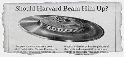 Should Harvard Beam Him Up?