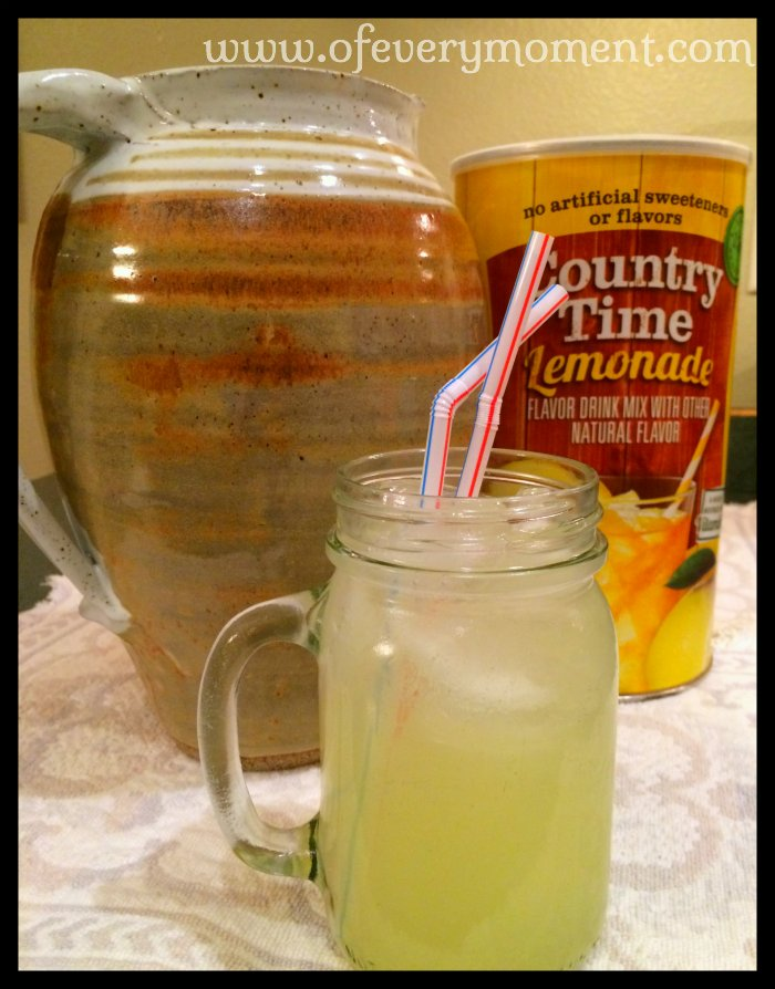lemonade, powdered lemonade mix, Country Time Lemonade