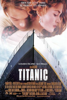 The French movie poster for 'Titanic' (1997)