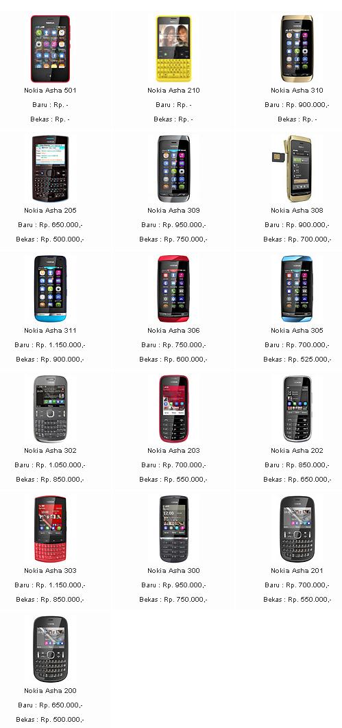 UPDATE SEPTEMBER Daftar Harga HP Nokia Terbaru