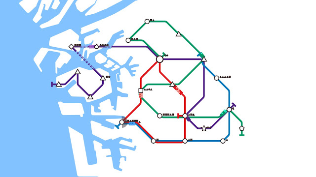 Mini Metro PC indie game review