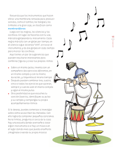 Sopa de notas - Educación Artística Bloque 5to 2014-2015