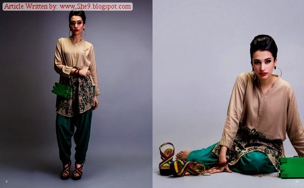 Nishat Linen Winter Pret Collection 2014-2015 Magazine