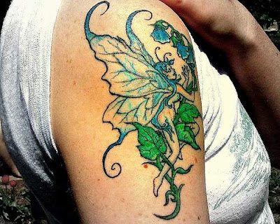 Fairy on Arm