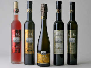 Ice wine rare type of wine