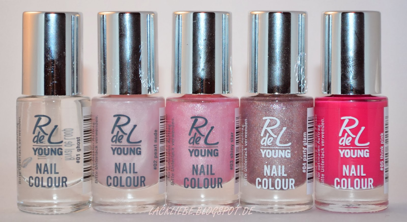 Lackliebe: Rival de Loop Young Nagellack Swatches #1...................