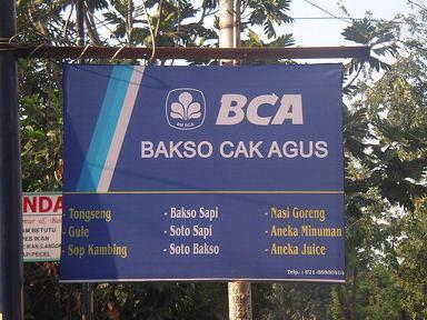 BCA Bakso cak agus