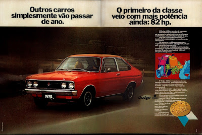 propaganda Dodge 1800 Chrysler - 1973.  1973. brazilian advertising cars in the 70. os anos 70. história da década de 70; Brazil in the 70s; propaganda carros anos 70; Oswaldo Hernandez;