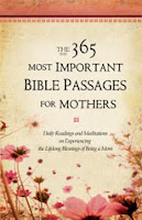 The 365 Most Important Bible Passages for Mothers cover