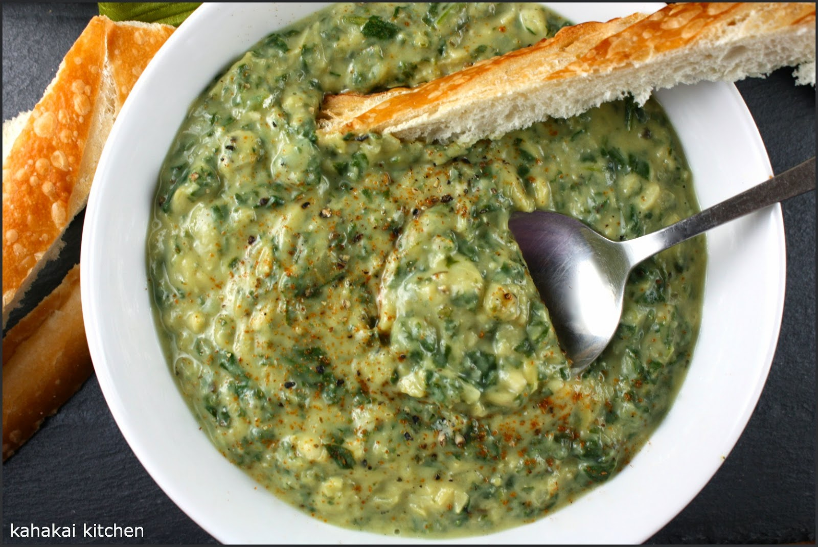 Creamy, Cheezy, Spinach-Artichoke Soup: 'Healthy Souping' of a Classi...