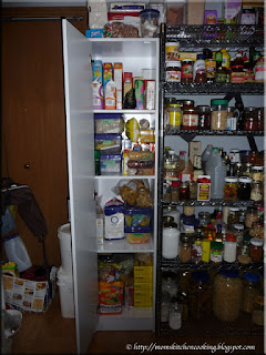 new pantry filled