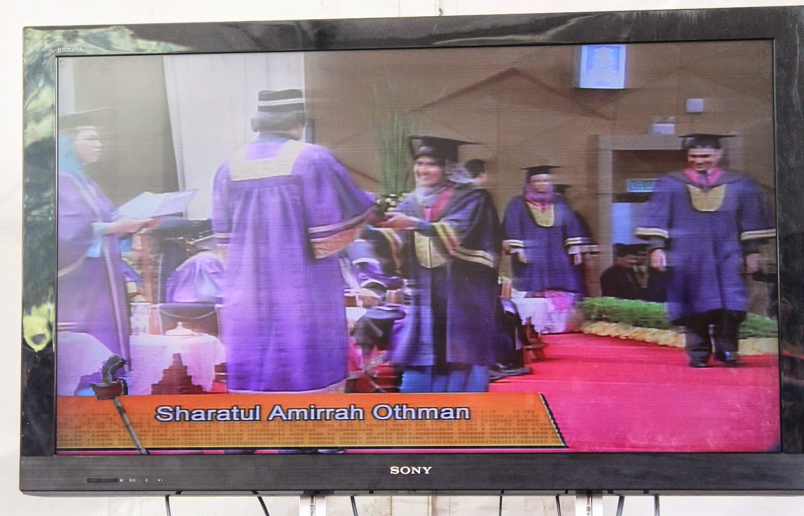 Istiadat Konvokesyen UiTM ke-80 : I'm Officially Graduated