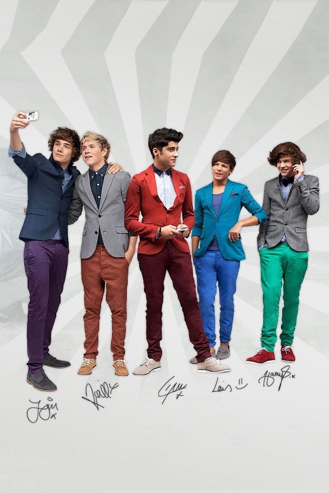 iPhone Wallpapers: One Direction - 532.8KB