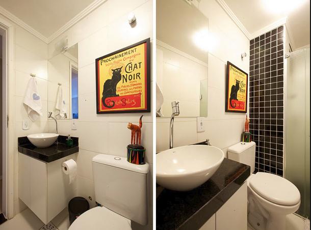 Casar é assim Lá em casa é assim  Mini banheiros! -> Mini Banheiro Com Banheira