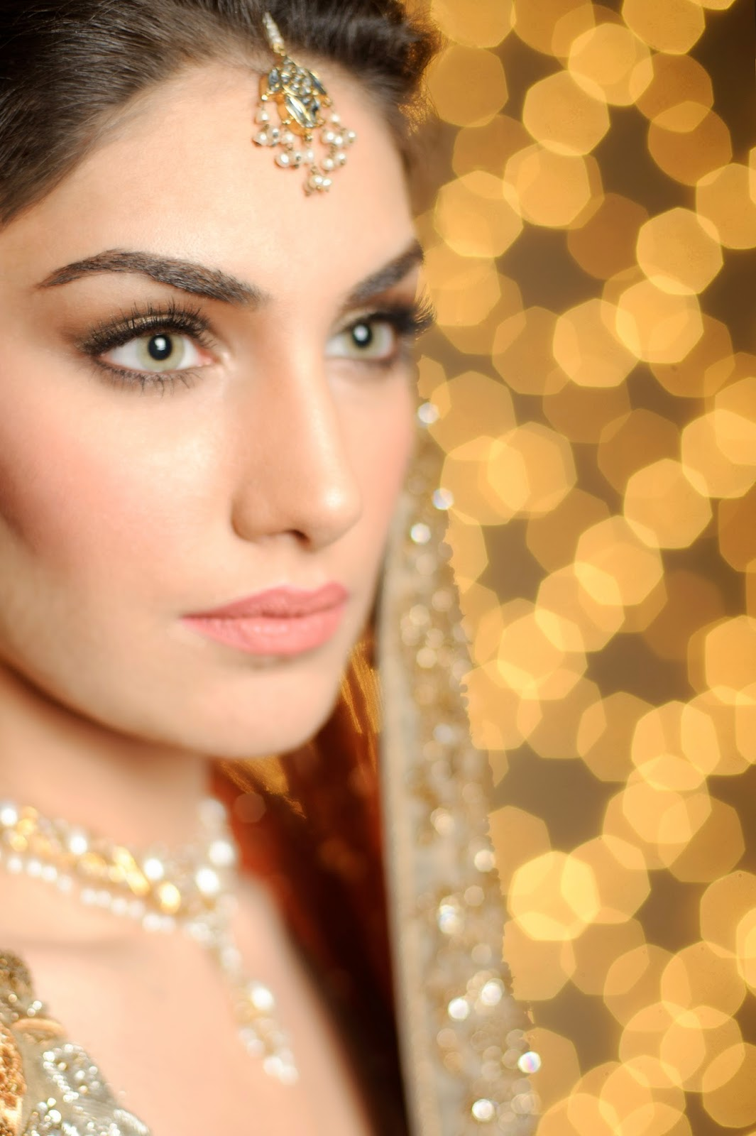 Hair and make-up by Bina Khan Photography by Bina Khan and Danish rasheed. Read the whole article where it originally appeared in the link below! - imaan%252Bbridal