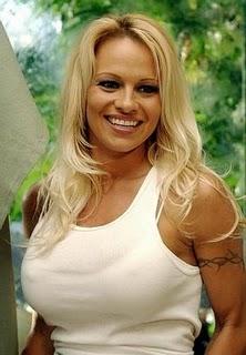 Pamela Anderson Tattoos - Female Celebrity Tattoo Ideas