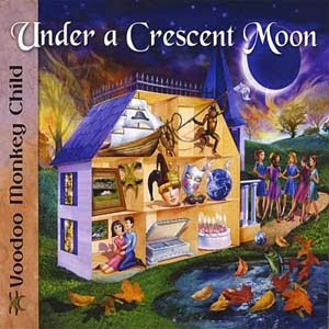 Voodoo Monkey Child - Under A Crescent Moon (2009)