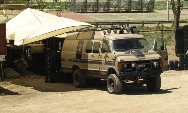 New Off Road 4x4 Camper Van Conversion