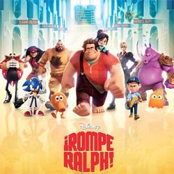 Crítica de ¡Rompe Ralph! Videojuegos y animación para las navidades