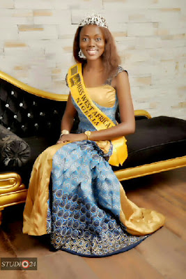 The Winner Of Miss West Africa Nigeria 2013
