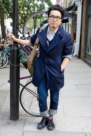 street style london collections men menswear loose tailoring