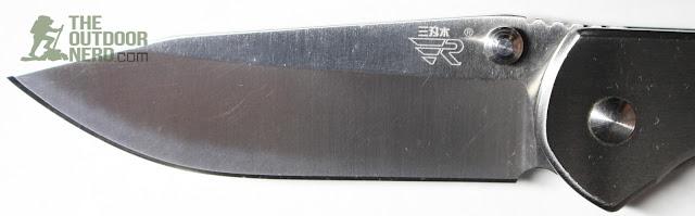 Sanrenmu 7010 EDC Pocket Knife - Blade View 1
