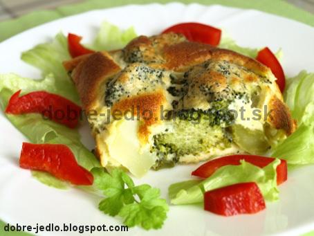 Brokolica v syrovom cestíčku - recepty