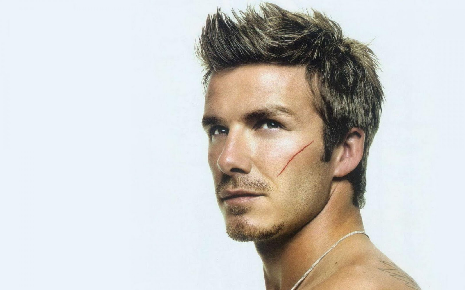 really cool hairstyles : Funny Picture Clip: Very Cool David Beckham Hairstyles