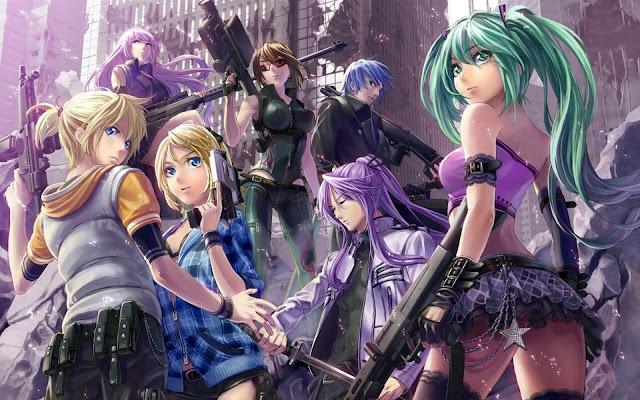 Anime Girl Characters