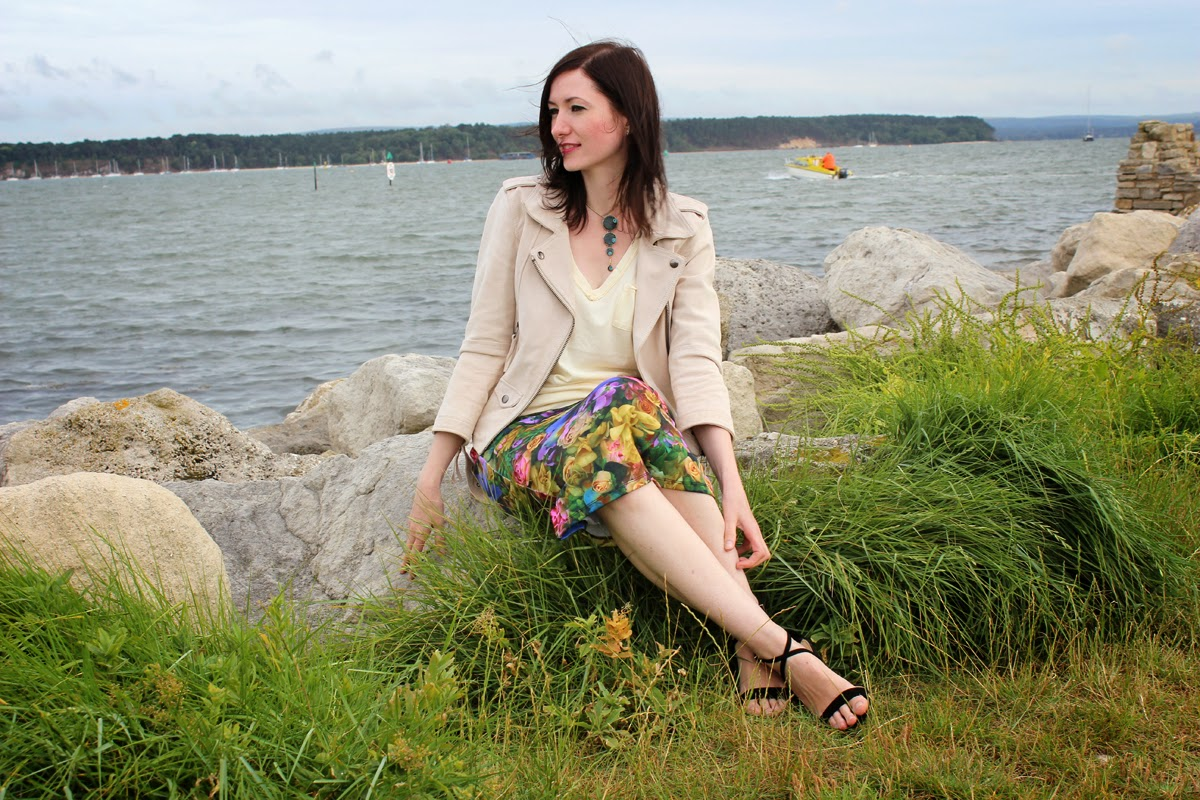 styling awesome, at the seaside