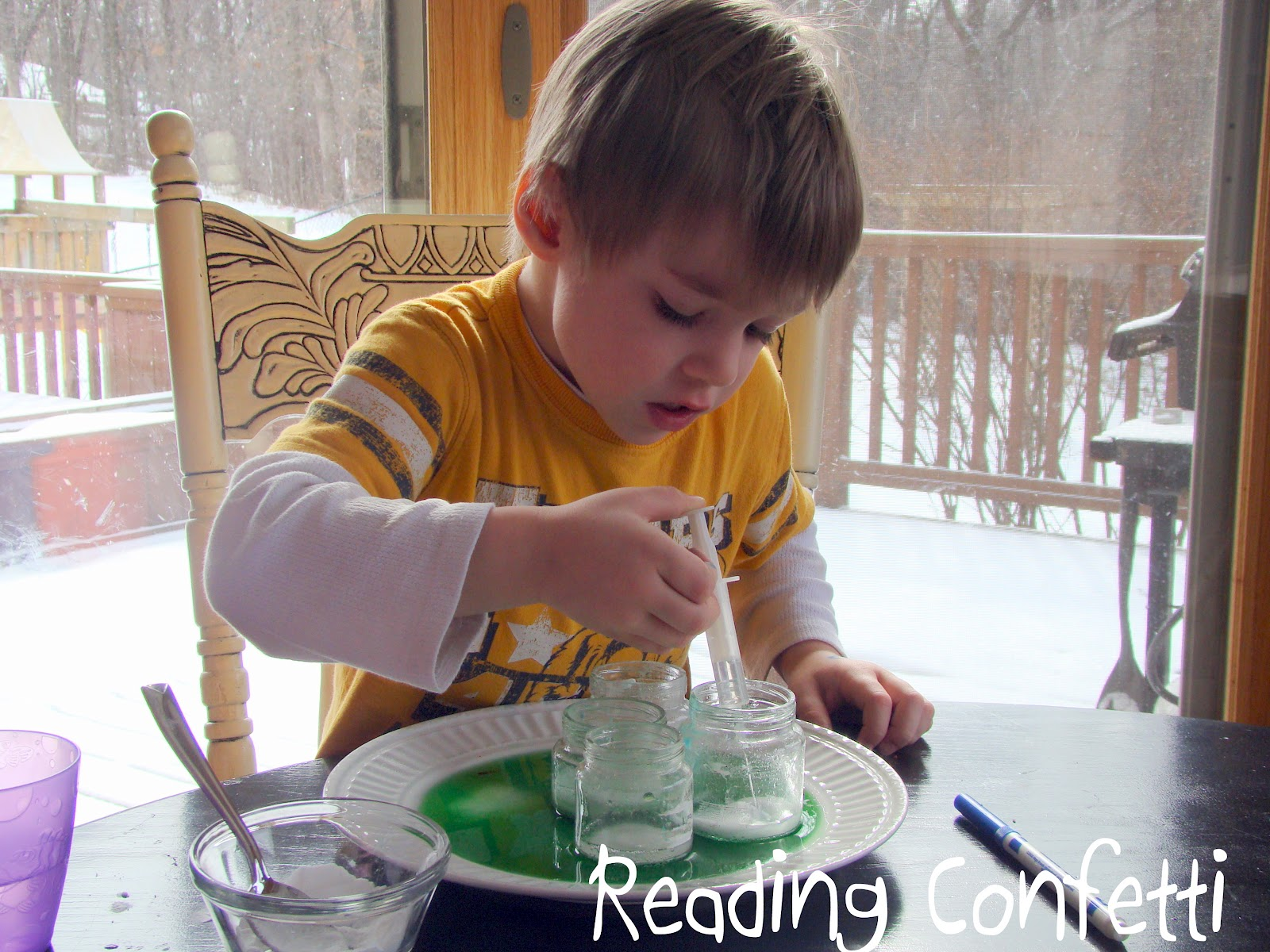 preschool science experiment preschool science experiment reading confetti 482