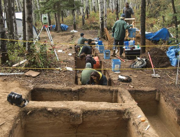 paleoindian burial ... protective services for thousands of adults ...