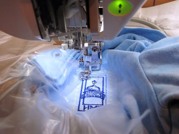 Embroidered Quilt Labels & Shirts