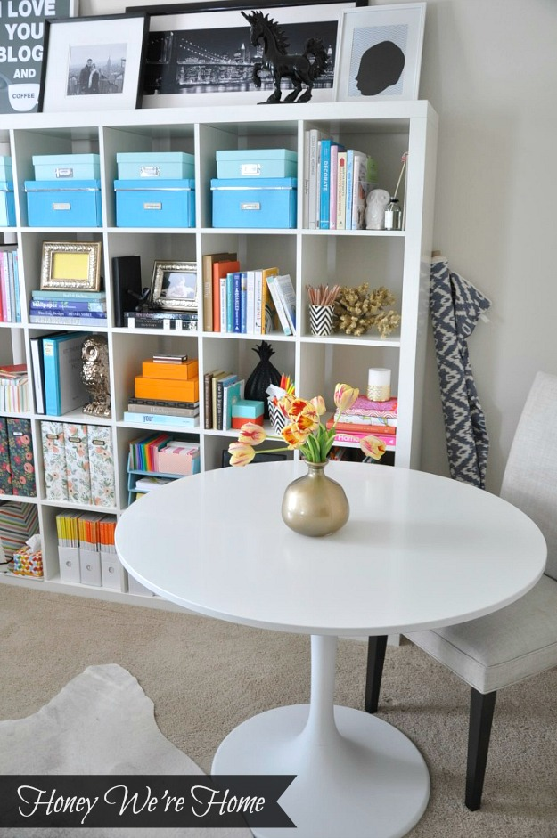 honey we 39 re home home office update ikea doksta table