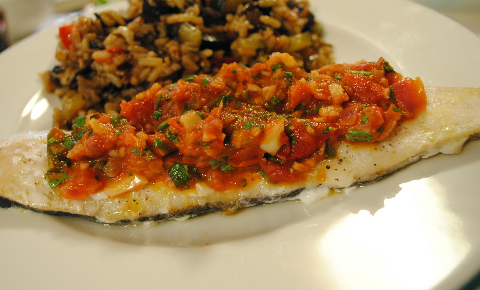 Passionate Perseverance: tasty tuesday - cod w/ roasted ...