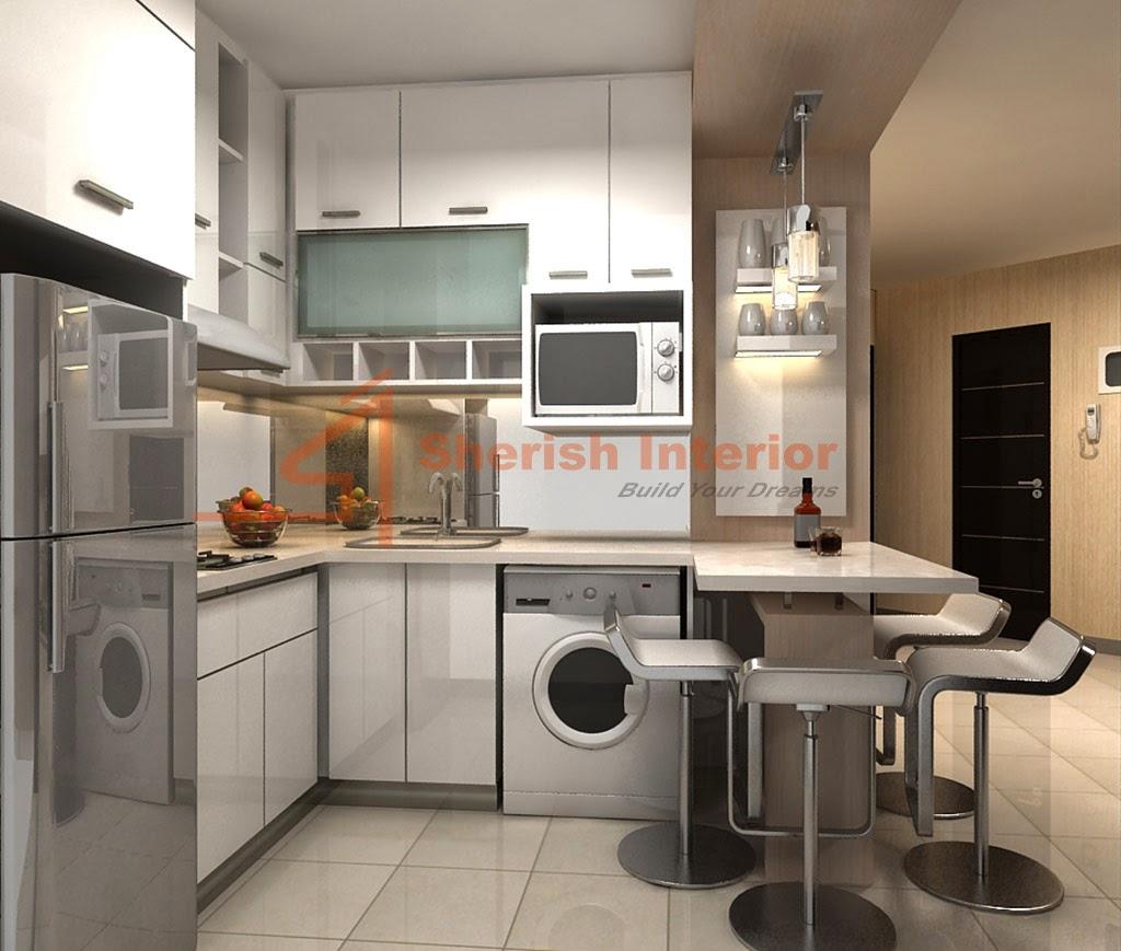 Desain Interior Apartemen Studio Jakarta Apartment