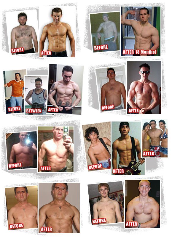 bodybuilders before and after. The best odybuilding