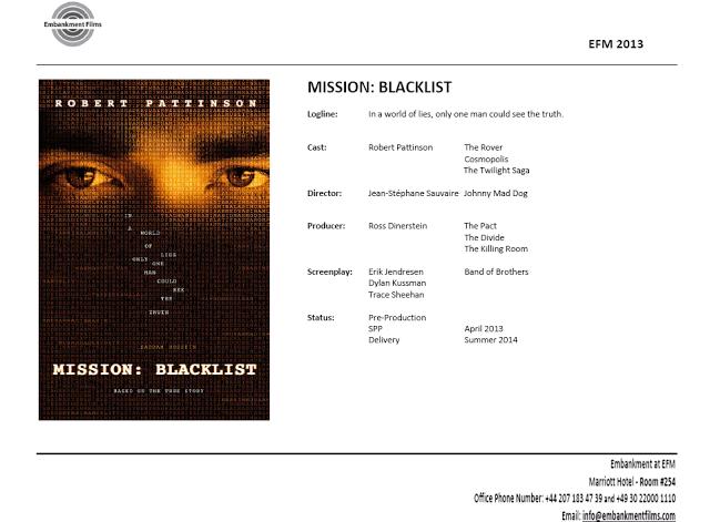Mission: Blacklist (Eric Maddox) Blacklist's