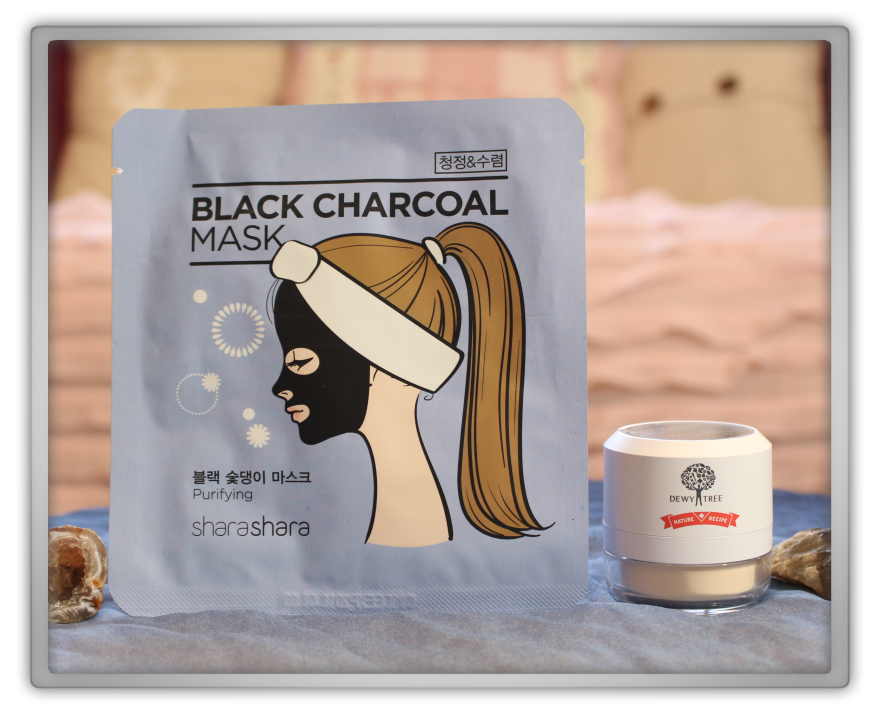 겟잇뷰티박스 by 미미박스 memebox beautybox Special #31 Earth & Sea Cosmetics box unboxing review dewytree powder shara charcoal mask