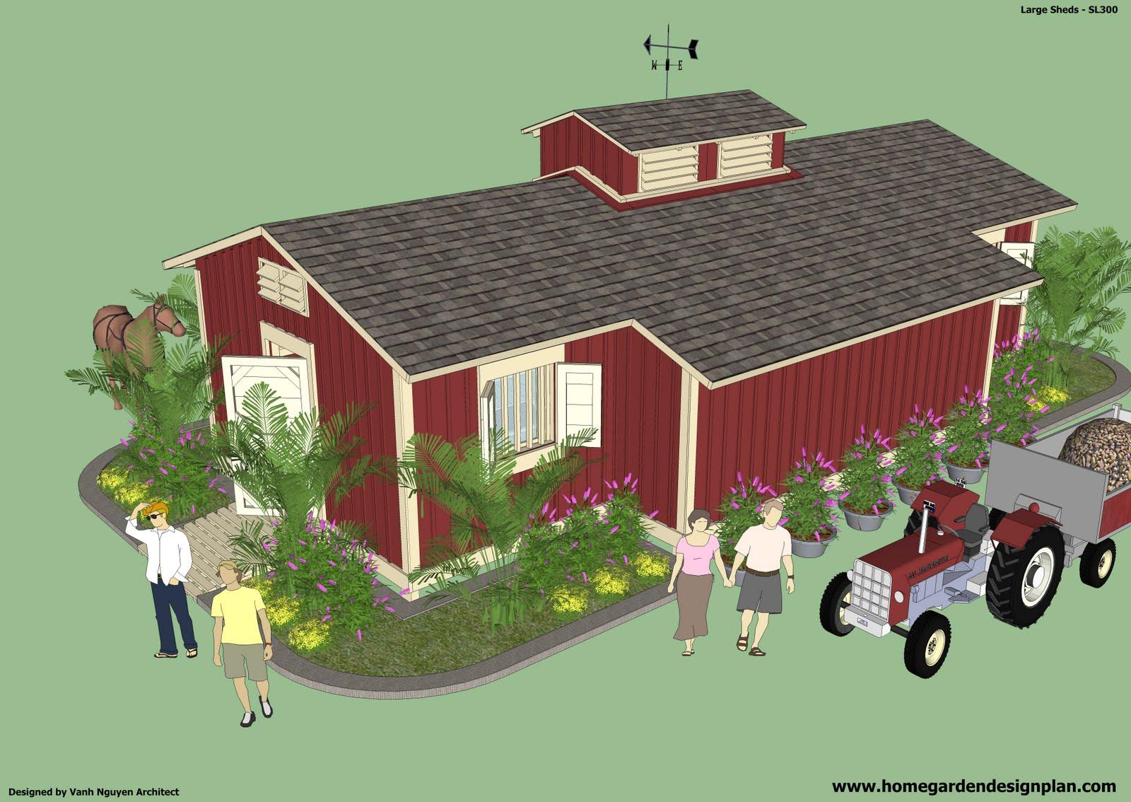 home garden plans garden sheds