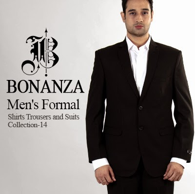 Bonanza Men's Formal Shirts Trousers and Suits Collection-2014