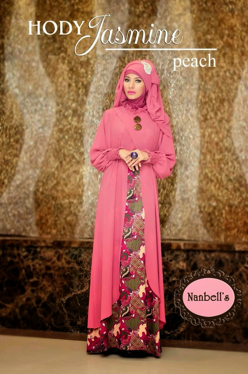 Model Baju Muslim Batik Modis  Hody Jasmine By Nanbells