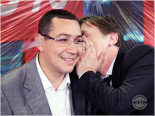 Funny image Victor Ponta Crin Antonescu Coabitare