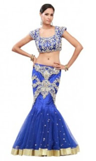 Bridal-Lehenga-Fish-Cut